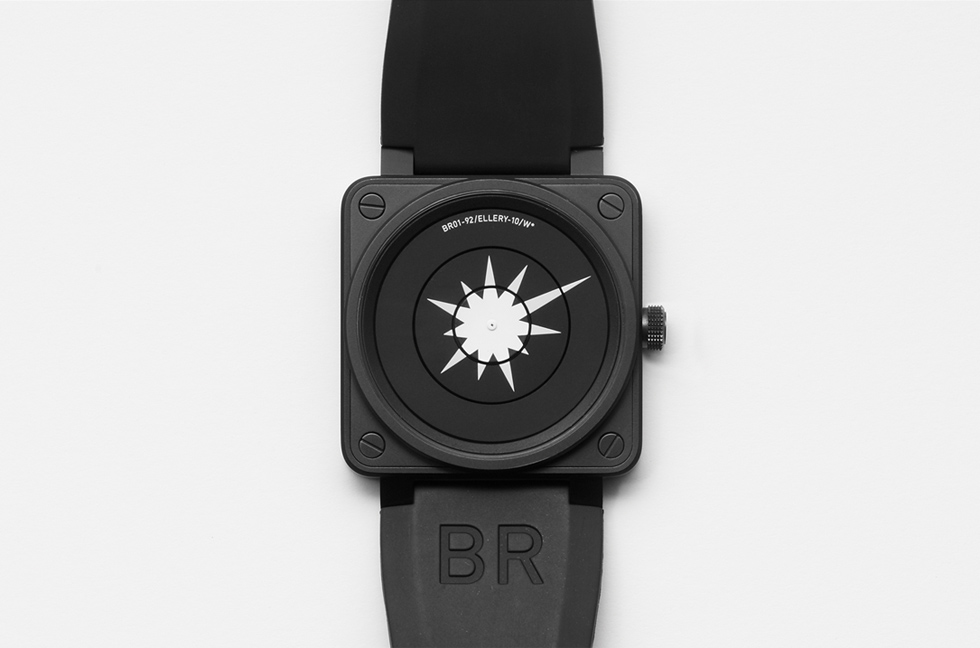Jonathan Ellery, art, Bell&Ross, watch, 2009, Browns Design and Browns Editions