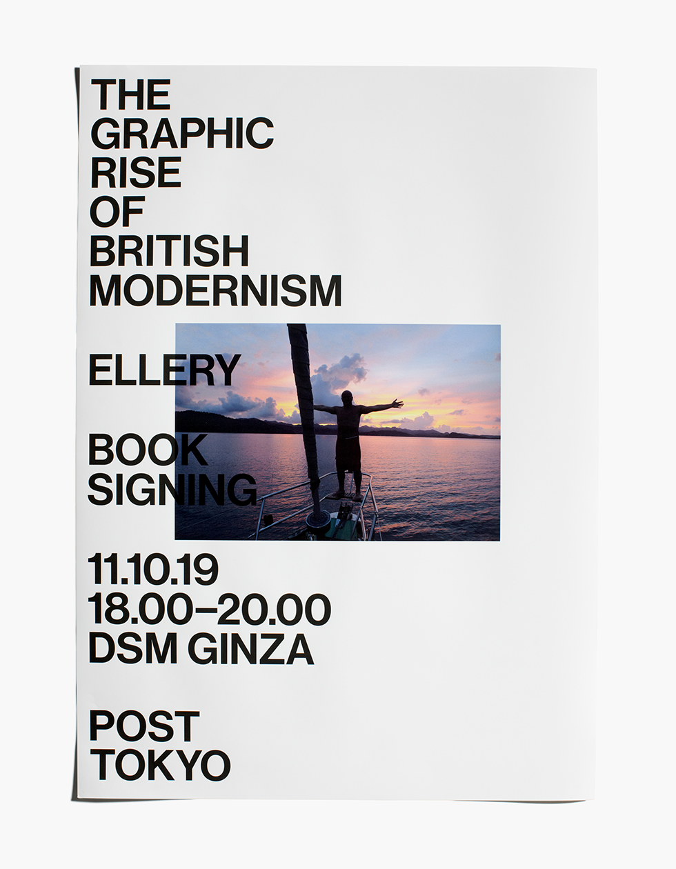 Jonathan Ellery, The Graphic Rise of British Modernism, Book Signing, Post, Tokyo, Dover Street Market Ginza, BookJonathan Ellery, The Graphic Rise of British Modernism,2019